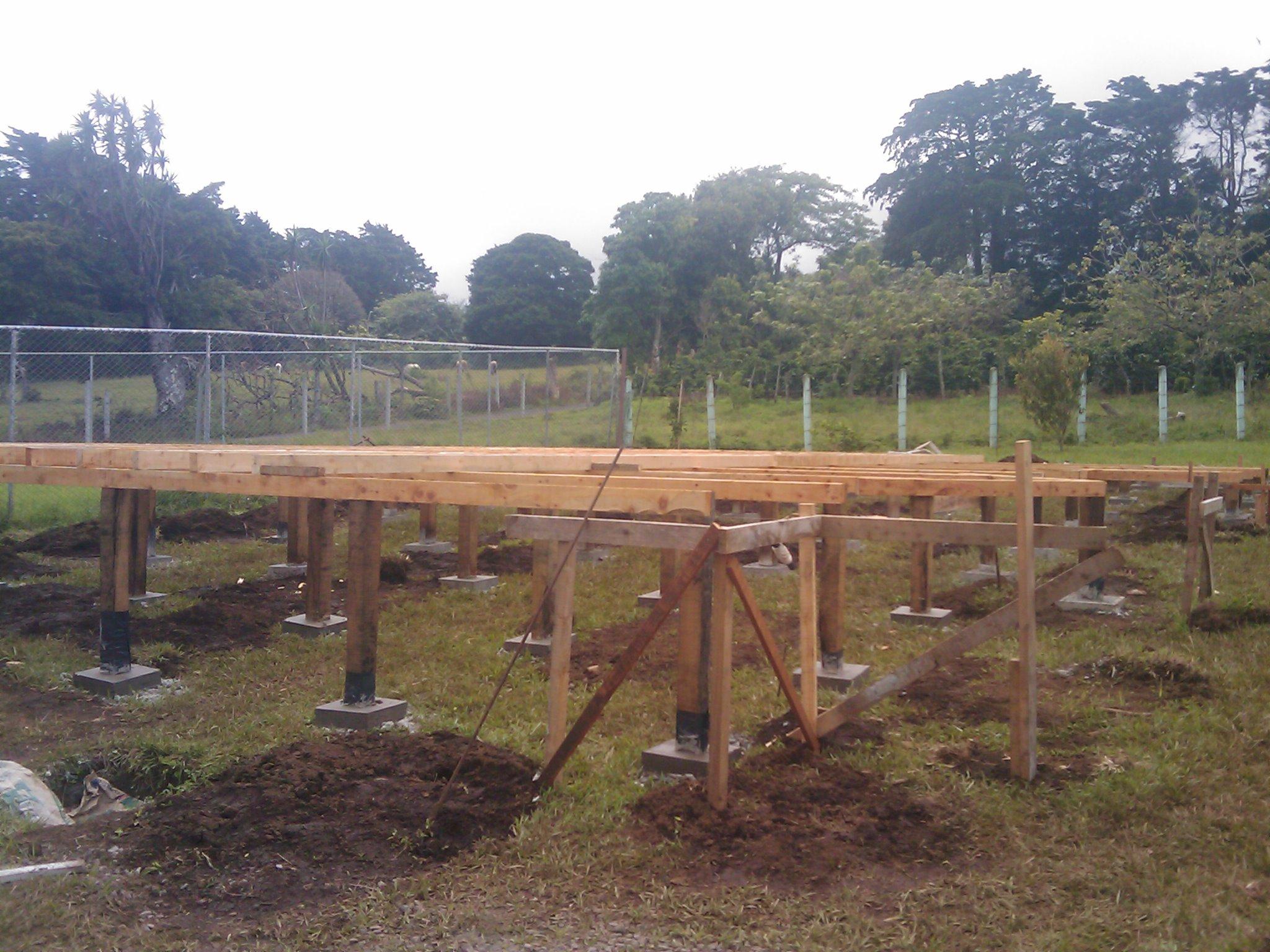 Construcci n caba a fh parte i ecoarqsos - Como hacer una cabana de madera ...