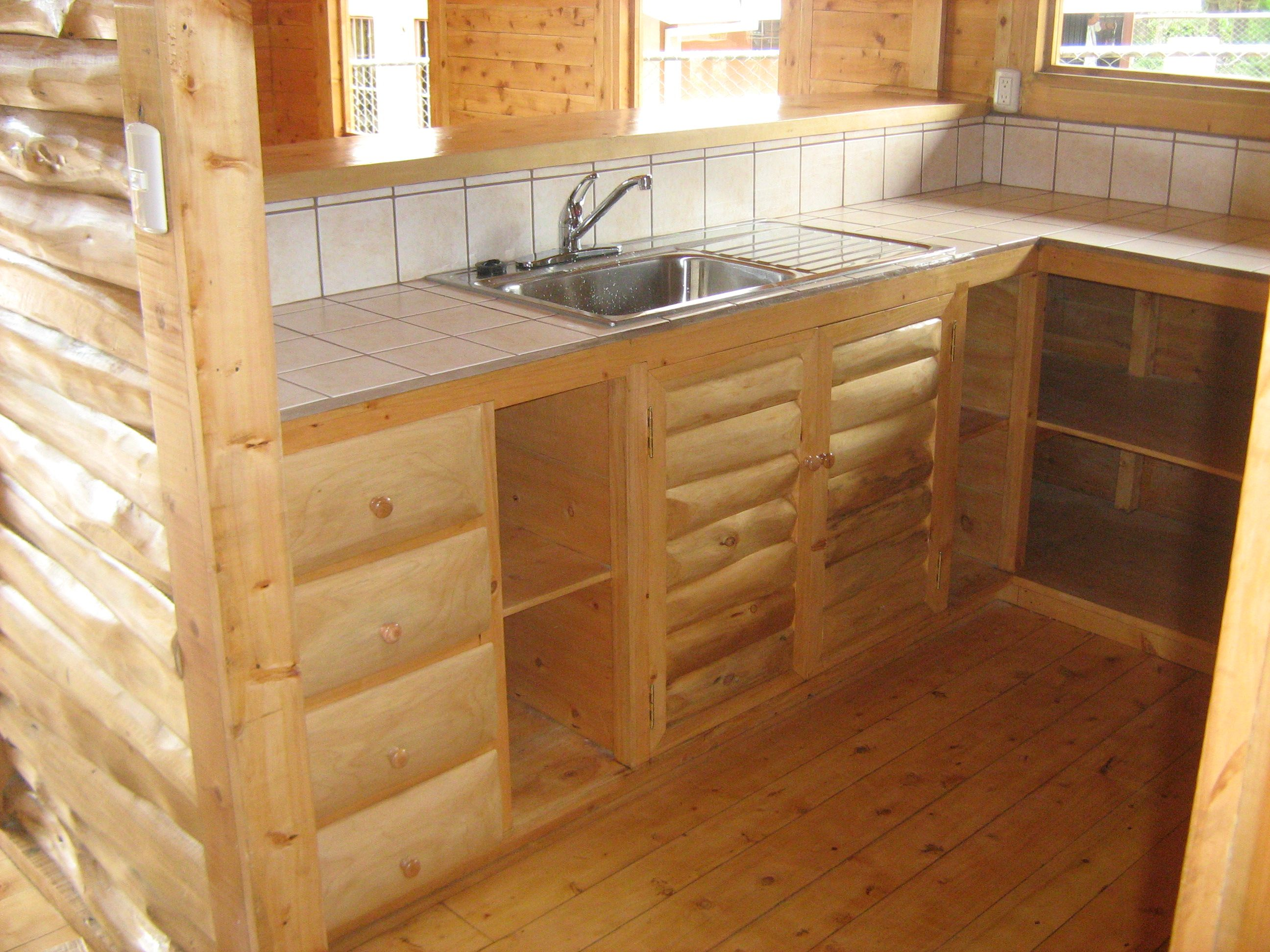 Construcci n caba a fh parte ii ecoarqsos - Azulejos rusticos para cocinas ...