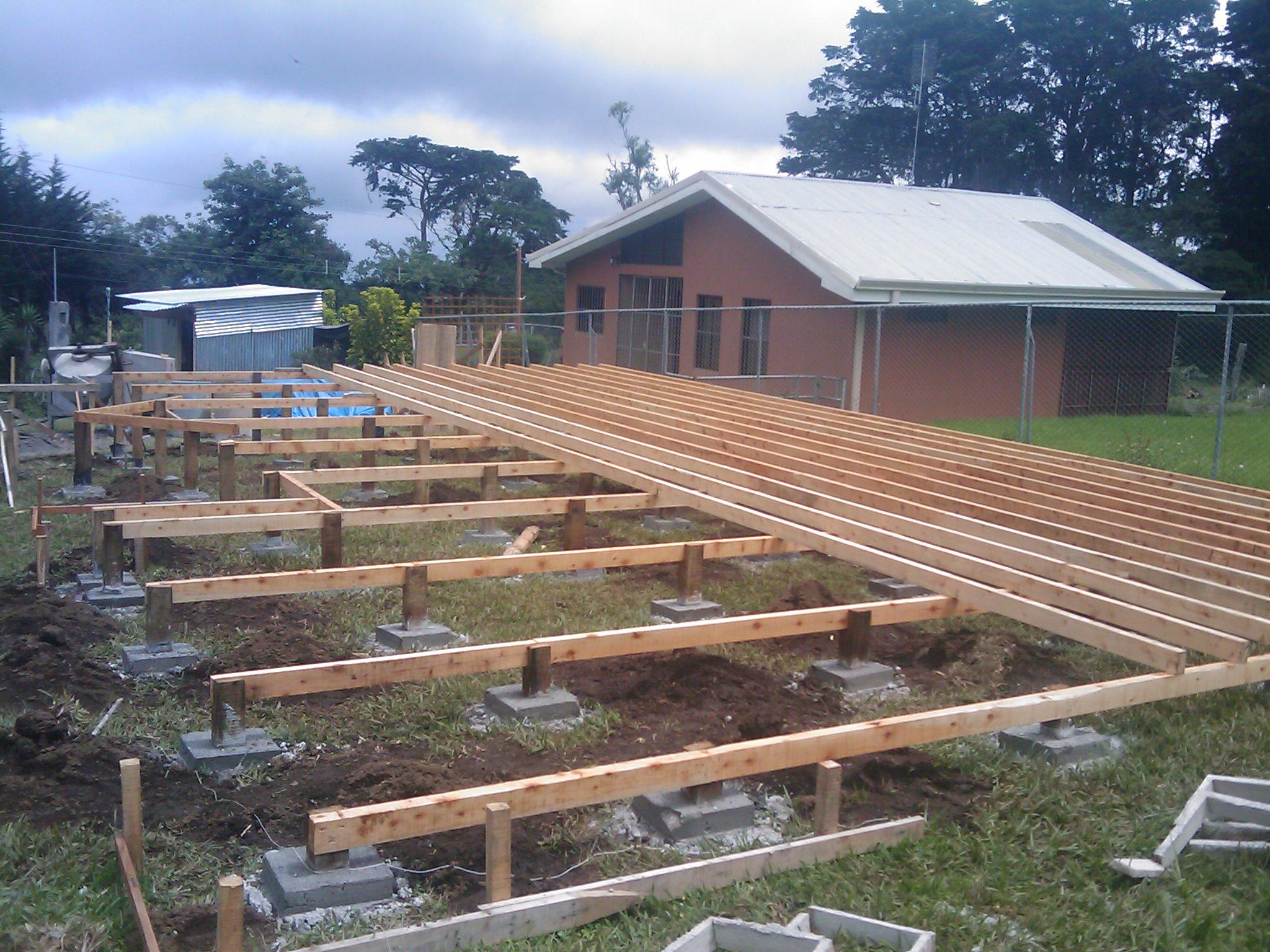 Construcci n caba a fh parte i ecoarqsos - Construccion de cabanas de madera ...