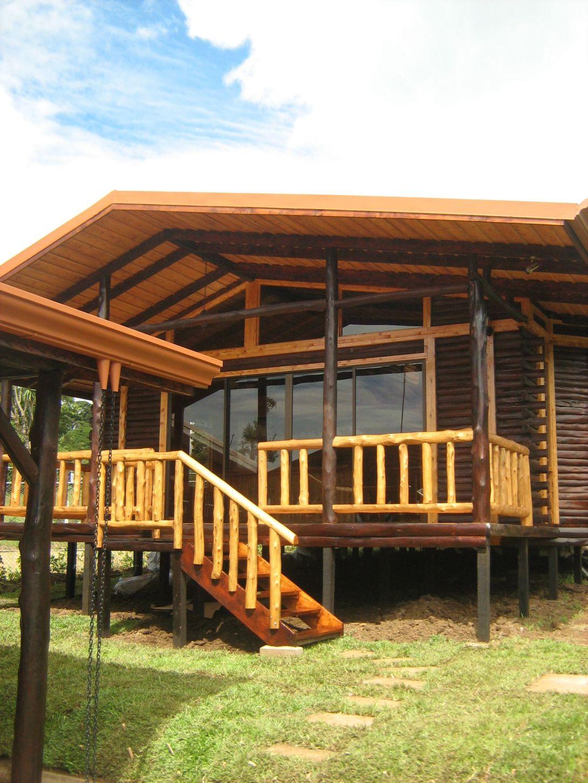 Construcci n caba a fh parte ii ecoarqsos - Cabanas de madera los pinos ...